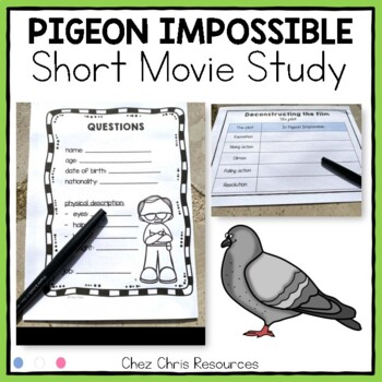 Pigeon Impossible: study of the short movie + the plot / conversions