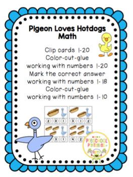 Pigeon Loves Hotdogs Math