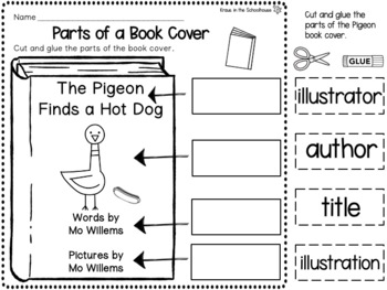 Pigeon - Mo Willems Book Study