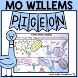 Pigeon Activities Mo Willems Book Study   Easel Activity Distance Learning