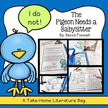 Pigeon Needs a Babysitter {A Literature Take-Home Bag}