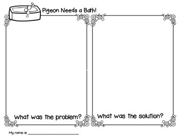 Pigeon Needs a Bath Book Companion