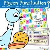 Pigeon Book Companion Punctuation   Types of Sentences