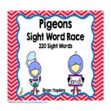 Pigeon Sight Word Race
