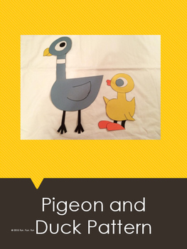 Pigeon and Duck Art Pattern