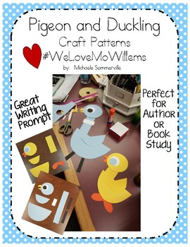 Pigeon and Duckling Craft Pattern