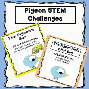Pigeon bundle of STEM Challenges