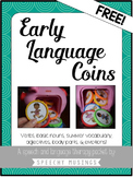 Piggie Bank Early Language Labels - Freebie