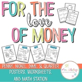 Money Worksheets: Posters and Games