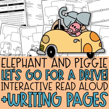 Elephant and Piggie by Miss M\'s Reading Resources | TpT