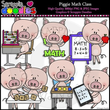 Piggie Math Class