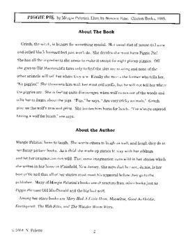 Piggie Pie Literature Guide
