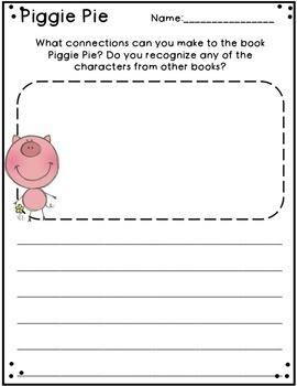 Piggie Pie by Margie Palatini Book Study
