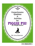 Piggie Pie! Comprehension Questions and Activities