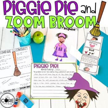 Piggie Pie and Zoom Broom: Read-Aloud Compare/Contrast Lesson Plans