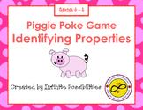 Identifying Properties Piggie Poke Game
