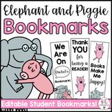Piggie and Gerald Bookmarks