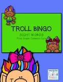 TROLL BINGO!!! First Grade Sight Words (Common Core Standards)