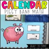 Piggy Bank Calendar Math