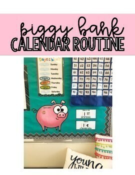 Piggy Bank Calendar Math