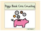 Piggy Bank Coin Identification Beginning and Intermediate
