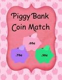 Piggy Bank Coin Match