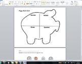 Piggy Bank Coin Sort