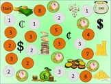 Piggy Bank Coins Game 1: Pennies and Dimes