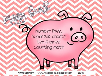 Piggy Bank Counting Mats