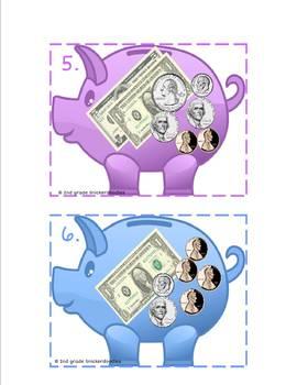 Piggy Bank Math: 2 Counting Money Activities