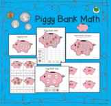 Piggy Bank Math - Adding Money - Matemáticas Alcancía - Bi