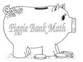 Piggy Bank Math Center Games