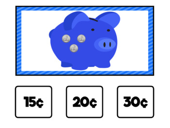 Piggy Bank Money Counting: Interactive PDF