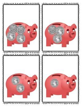 Piggy Bank Money Game Like Coins
