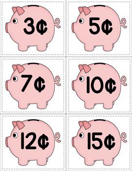 Money Matching Piggy Banks