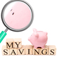 Piggy Bank Photos 04 Photograph Clip Art Set for Commercial Use