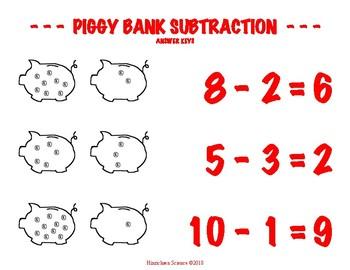 Piggy Bank Subtraction