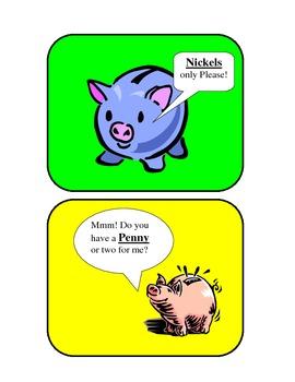 Piggy Bank money sort