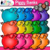 Piggy Bank Clip Art: Math Manipulatives & Coin Graphics {Glitter Meets Glue}