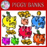 Piggy Banks Clipart