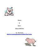 Piggy Love: Creative Writing with Dialogue