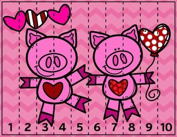 Piggy Number Puzzle