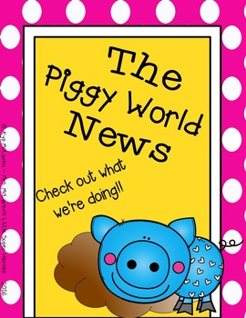 Piggy Organizational Binder (Full Color or Black/White)