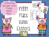 Piggy Place Value Centers