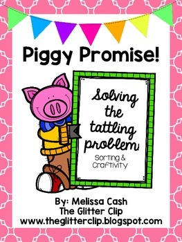 Piggy Promises -- Stop the Squealing! No more tattling!