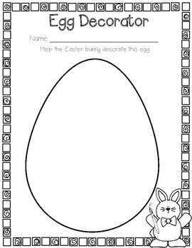 Piggy the Easter Bunny Craft