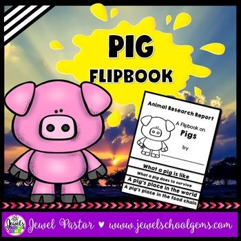Pig Science Activities (Pig Research Flipbook)
