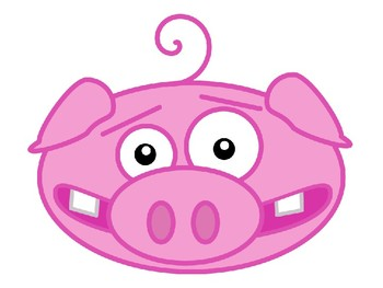 Pigs Clip Art and Templates Pack