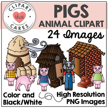 Pigs Clipart by Clipart that Cares