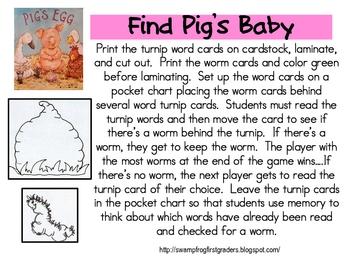 Pig's Egg Literacy Unit